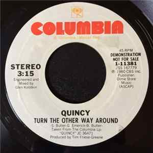 Quincy - Turn The Other Way Around MP3