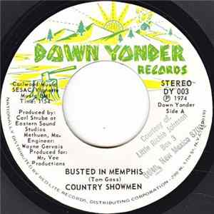 Country Showmen - Busted In Memphis / Hello Mr. Jukebox MP3